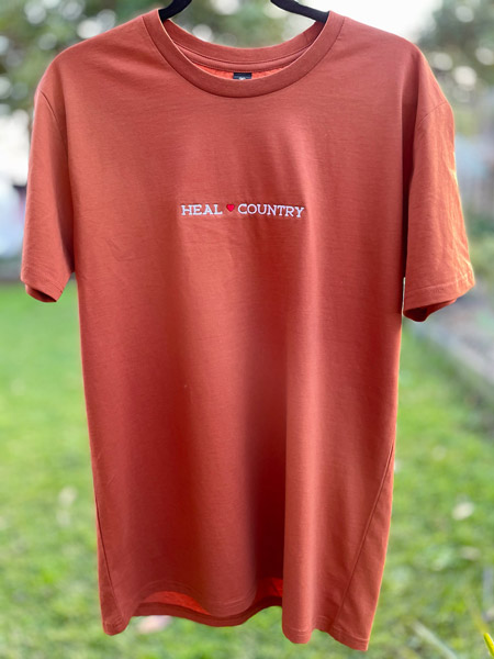 Heal Country Tee - Copper - Front