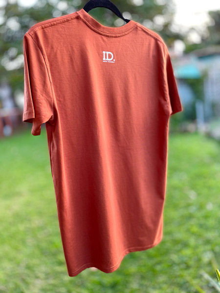 Heal Country Tee - Copper - Black